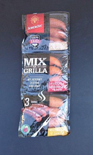 Упаковка колбасок гриль