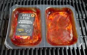 Упаковка маринованого м'яса