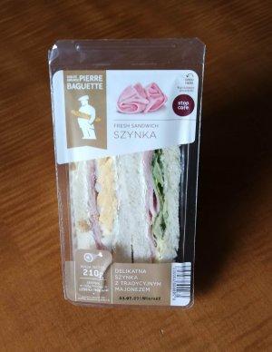 Упаковка сэндвичей
