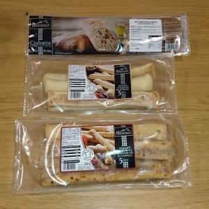 Упаковка хлебных палочек