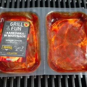 Упаковка маринованного мяса